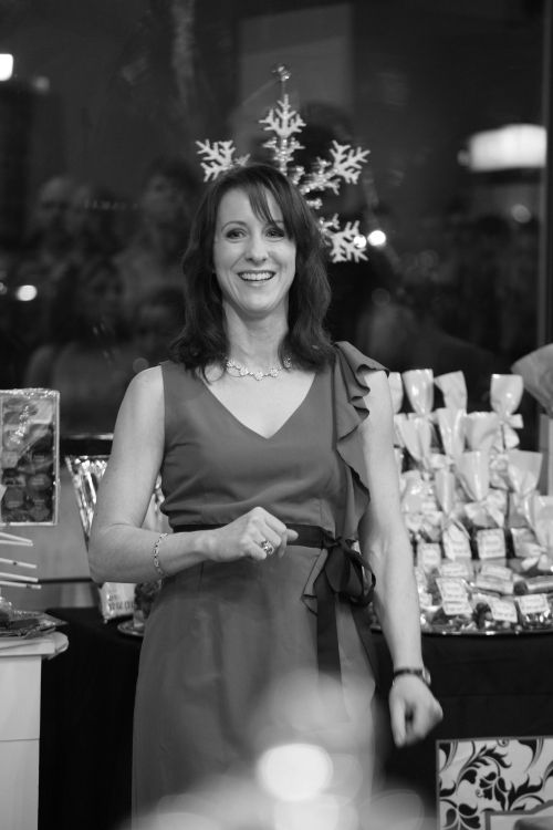"Alice at the  ""TATTOOS"" Reception – Chocolate Boutique – Lafayette Village – Jan 10th"