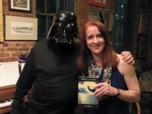 Alice Osborn and Darth Vader